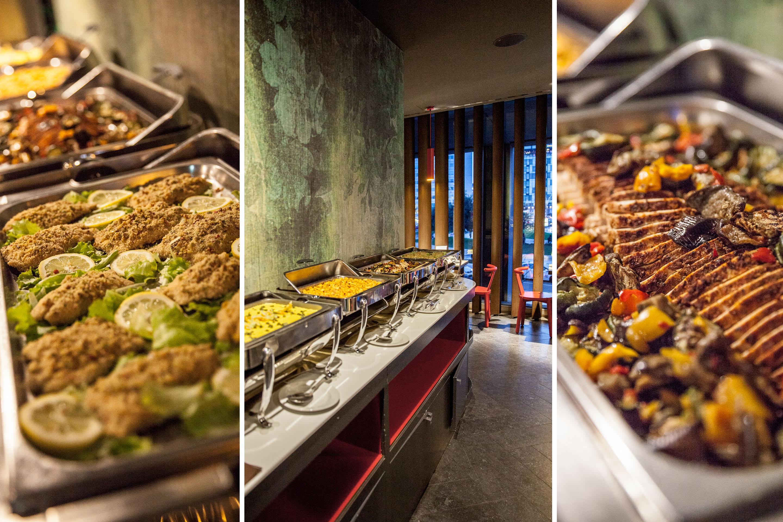Pranzo A Buffet Milano : Teppanyaki cucina a vista buffet giapponese cinese e italiana a